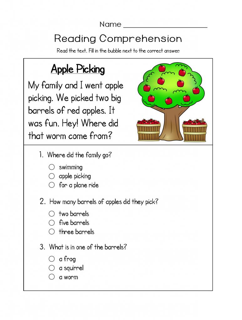 11+ Best reading worksheets for kindergarten Useful