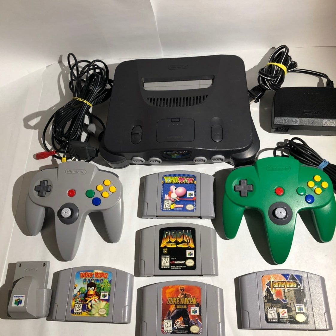 Cleaned And Tested Nintendo 64 With All Oem Connections 2 Oem