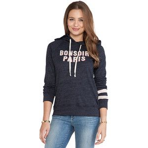 SUNDRY Bonsoir Paris Pullover Hoodie Loungewear