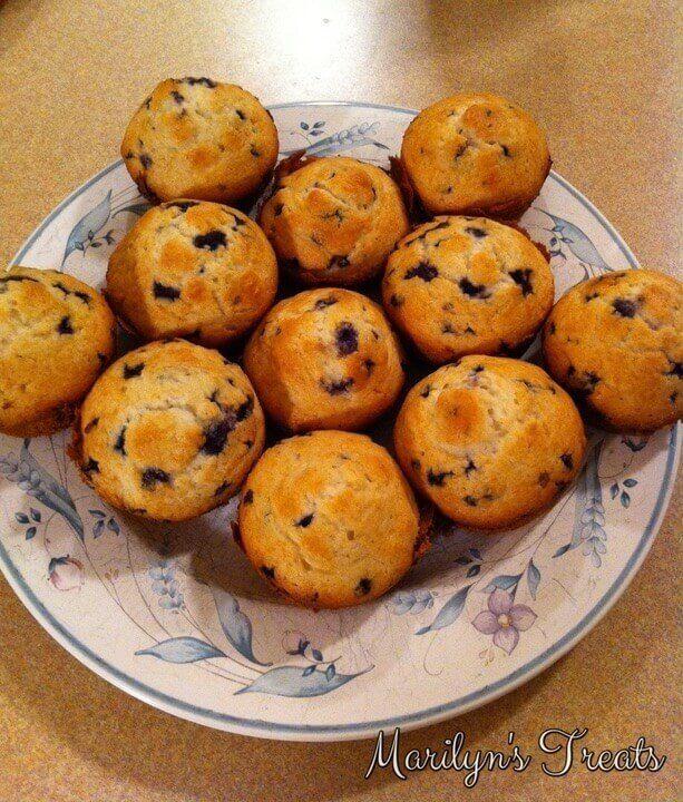 Best Quick Blueberry Muffins