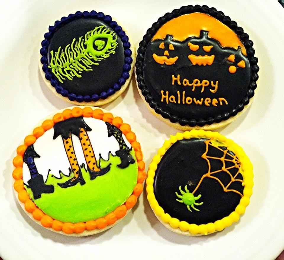 Witchy Feet - Witchy Feet Fall/Halloween/Thanksgiving Cookies - Halloween Decorated Cookies