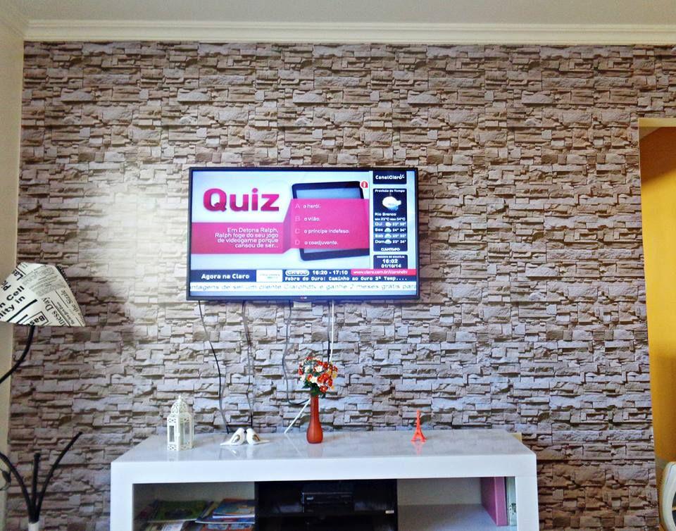 Veja como ficaram lindos os papeis de parede de nossos clientes