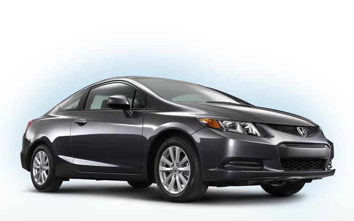 More use of high-tensile steel in the 2012 Civic gives it increased strength and rigidity, but lower weight | http://winnipeghonda.ca