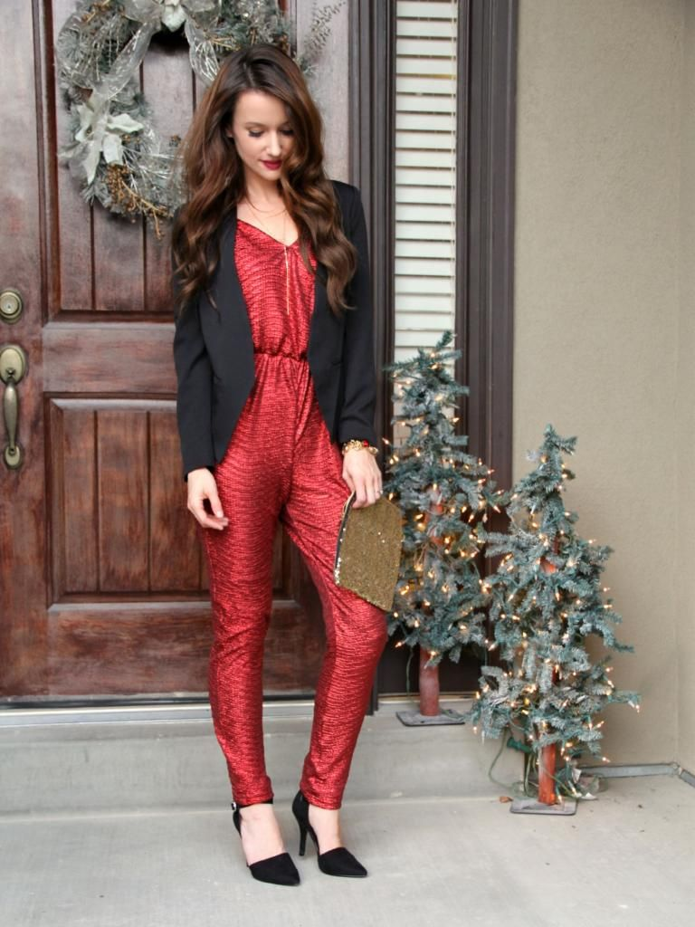 5bb6ee64730b Red jumpsuit