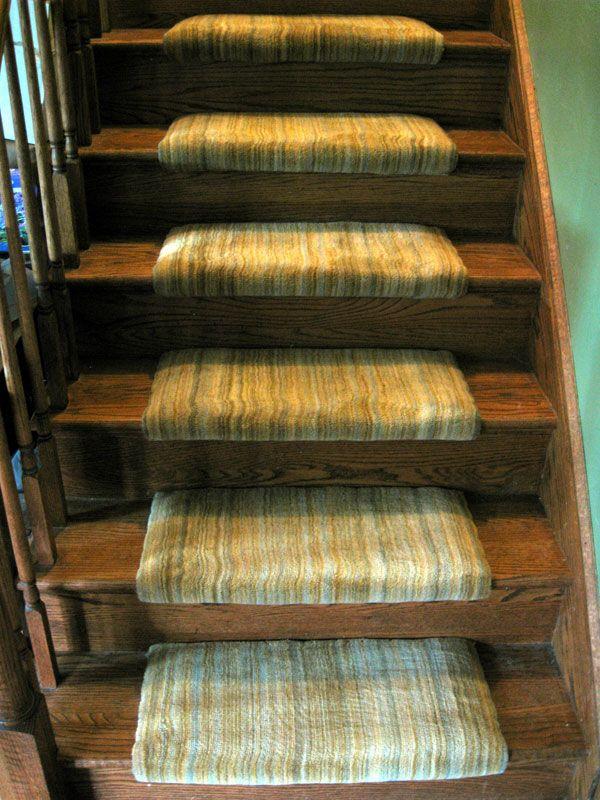 Custom Stair Runner Treads Only Frederick Md Custom   Carpet Stair Treads Only   Wood   Hardwood   Stair Runner   Non Slip   Hardwood Floors