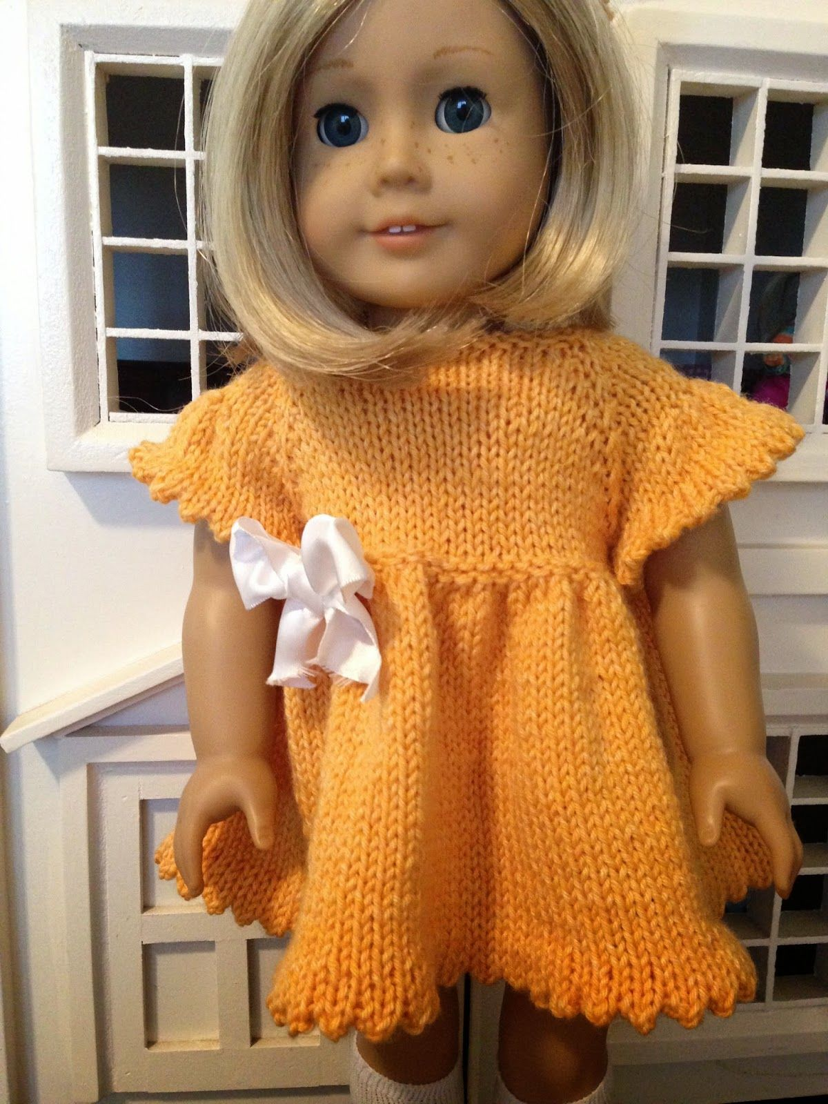 Knitionary: dolls Free knitting patterns for 18\