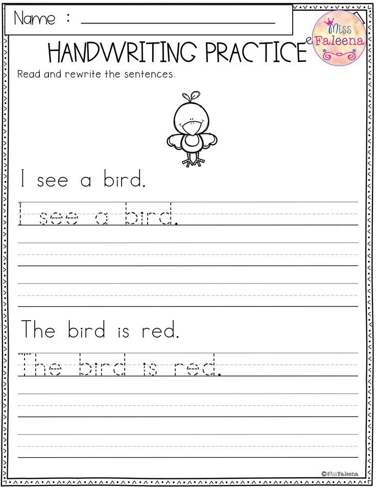 Free Handwriting Practice This Product Has 5 Pages Of Handwriting Worksheets T Writing Practice Worksheets Handwriting Practice Kindergarten Writing Practice