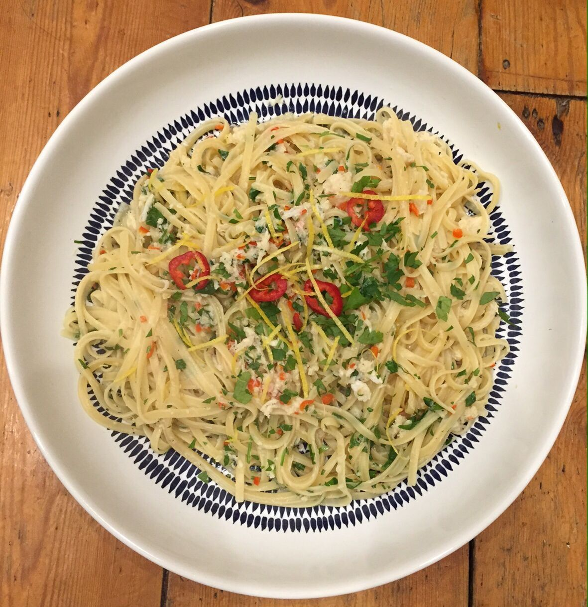 how to make the perfect crab linguine
