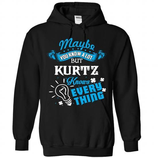 KURTZ - #gift for girlfriend #house warming gift. GET => https://www.sunfrog.com/Camping/KURTZ-Black-87815494-Hoodie.html?68278