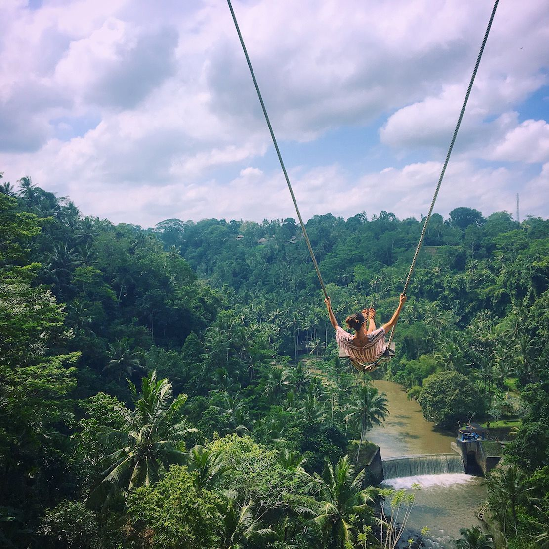 swing chair thailand hanging london how to ride the ubud at zen hideaway places go
