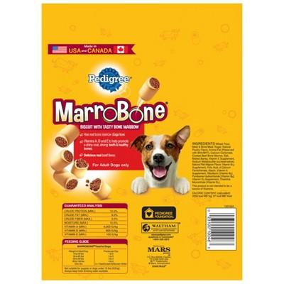 Pedigree Marrobone Real Beef Flavor Snacks For Dogs 24 Ozs In 2019
