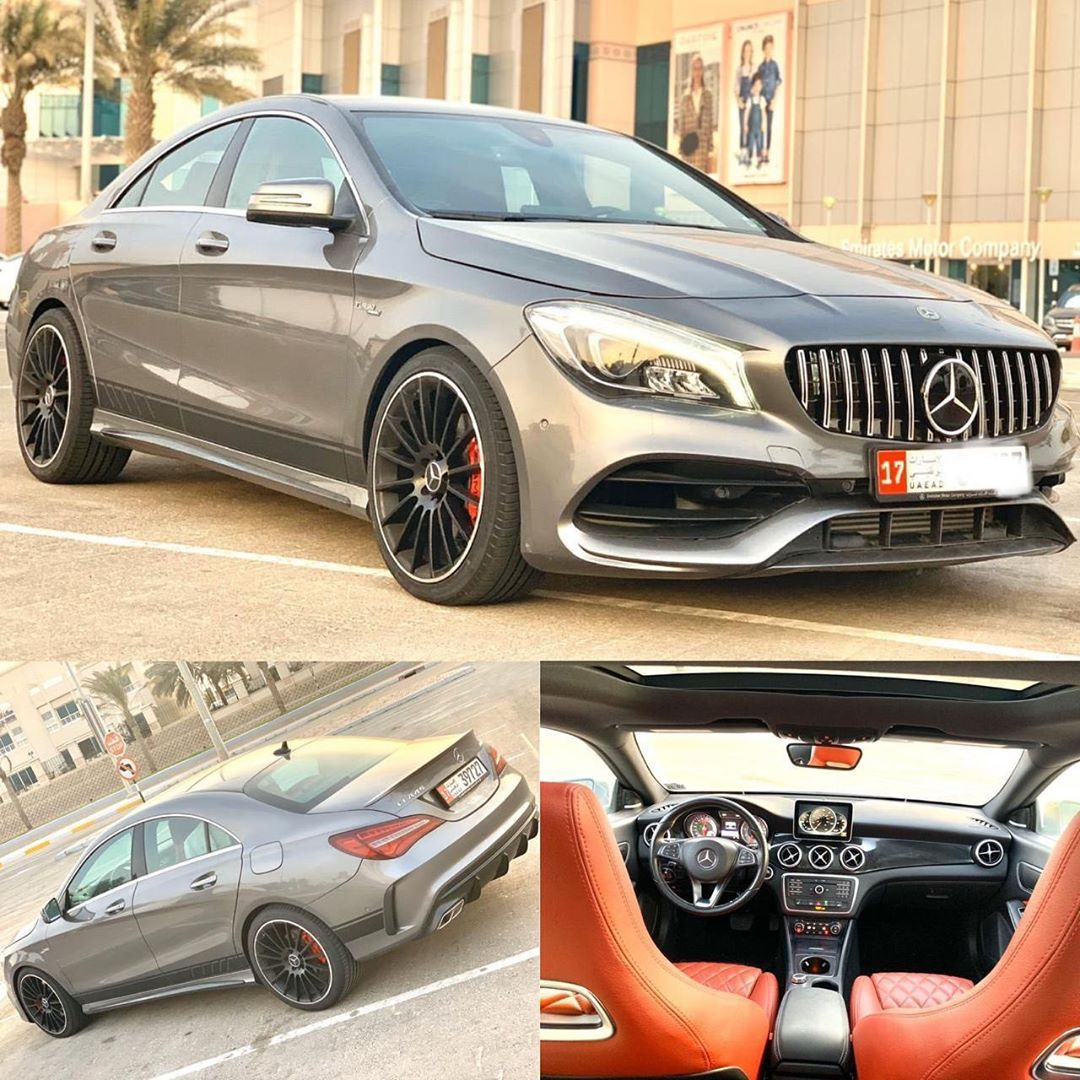 Mercedes Benz Cla 250 2016 Convertible Cla 45 2019 Amg To Amazing
