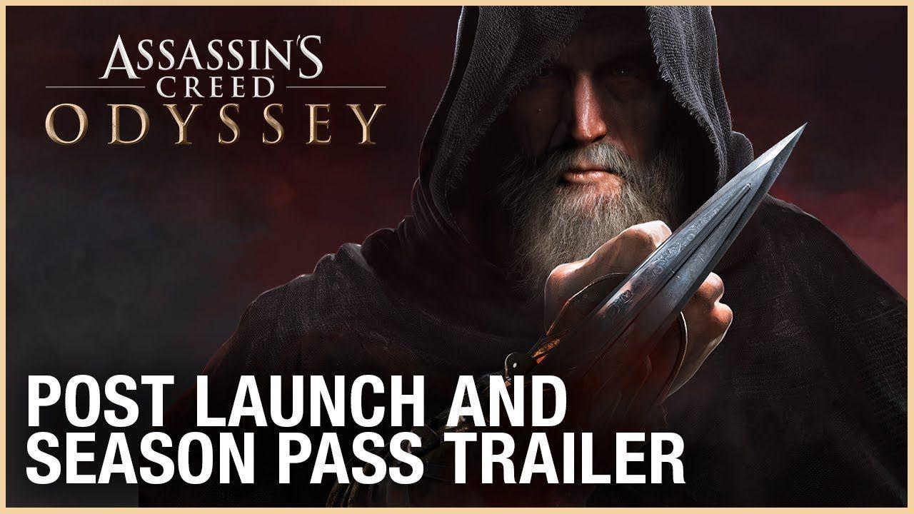 Assassin S Creed Odyssey Post Launch Season Pass Trailer Ubisoft Na Temporadas Lancamentos Detalhes