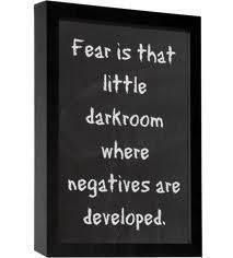 "Step Into The Light Captivating Fear Is That Little Dark Room Where Negatives Are Developed"" ""step Decorating Design"