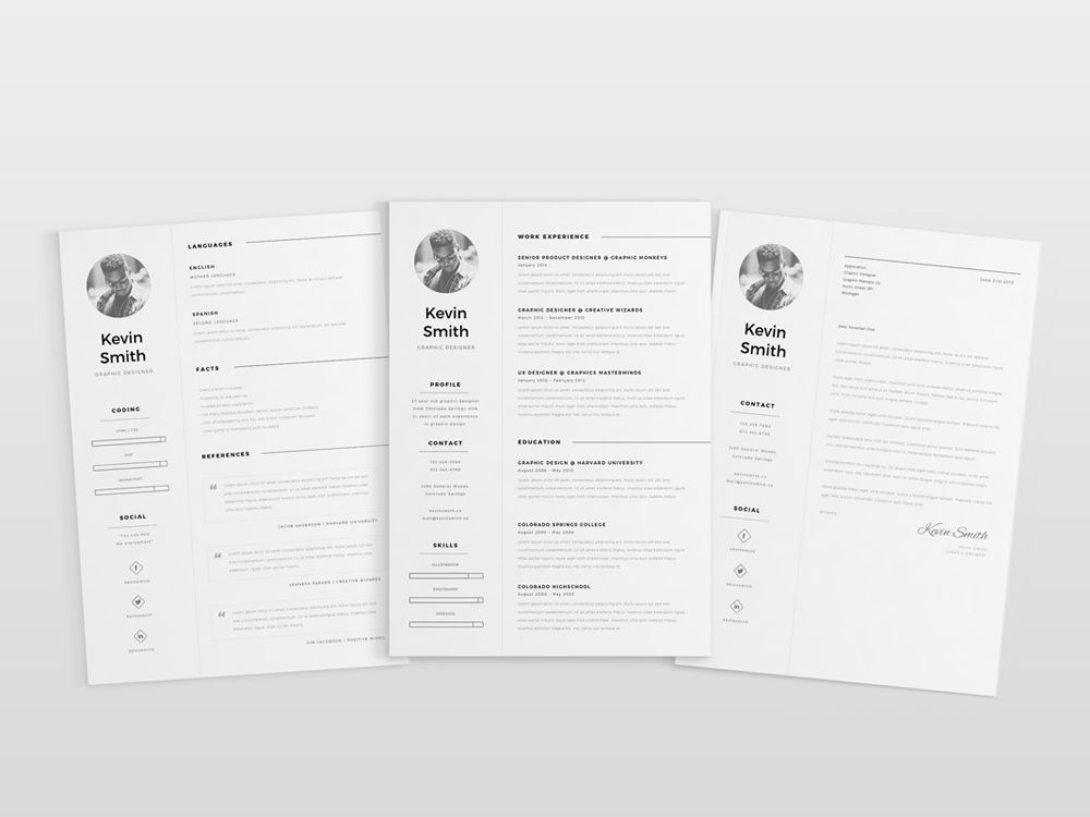 Resume File Format Fascinating Clean Simple And Elegant Resume Template In Ai Format  Free Resume .