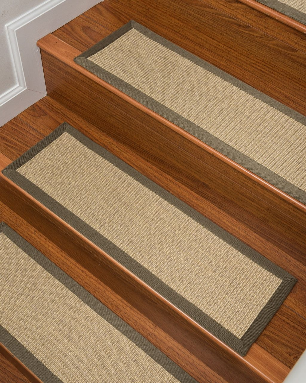 Best Carpet Stair Treads Natural Area Rugs With Images 400 x 300