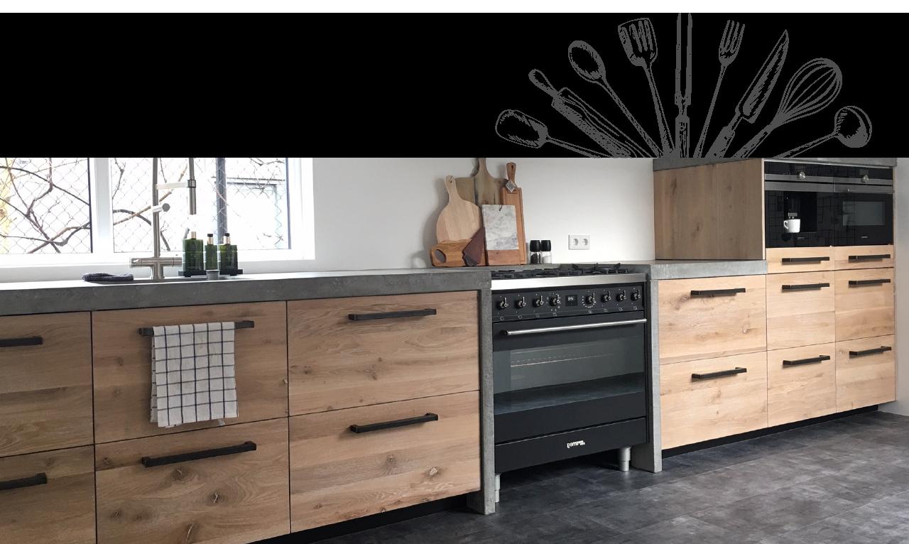 Koak Design Maakt Fronten Voor Ikea Keukens Metod Van Echt Hout Ikea Keuken Ikea Keukenkasten Keuken Ontwerpen