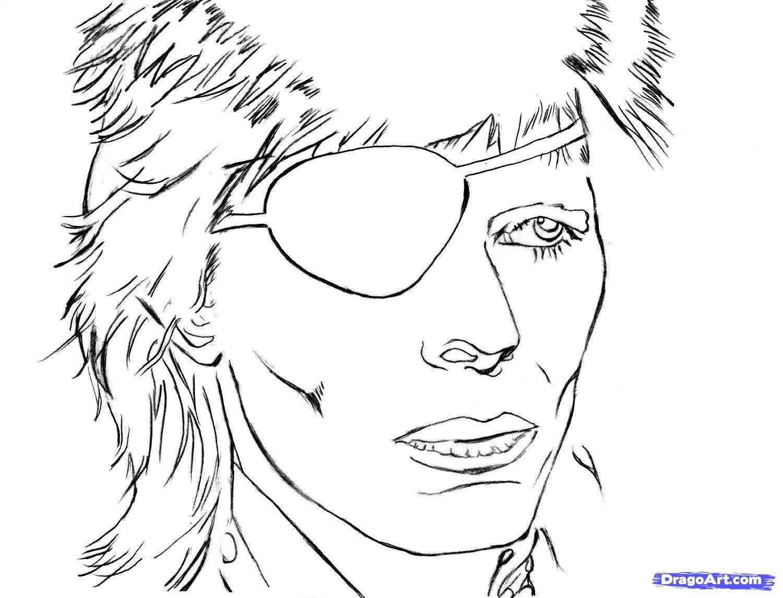 David Bowie Coloring Book Google Search Coloring Books David