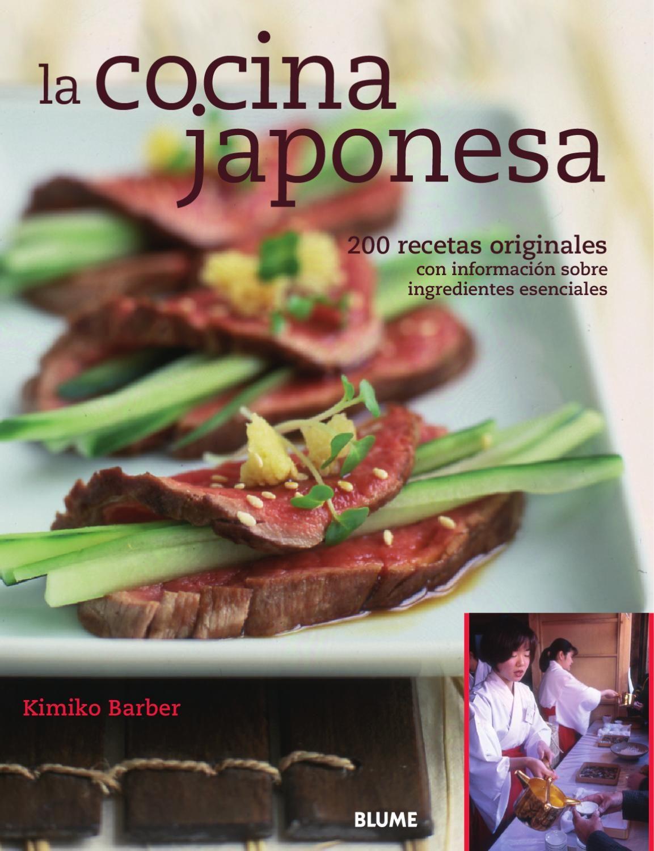 Recetas de alta cocina japonesa