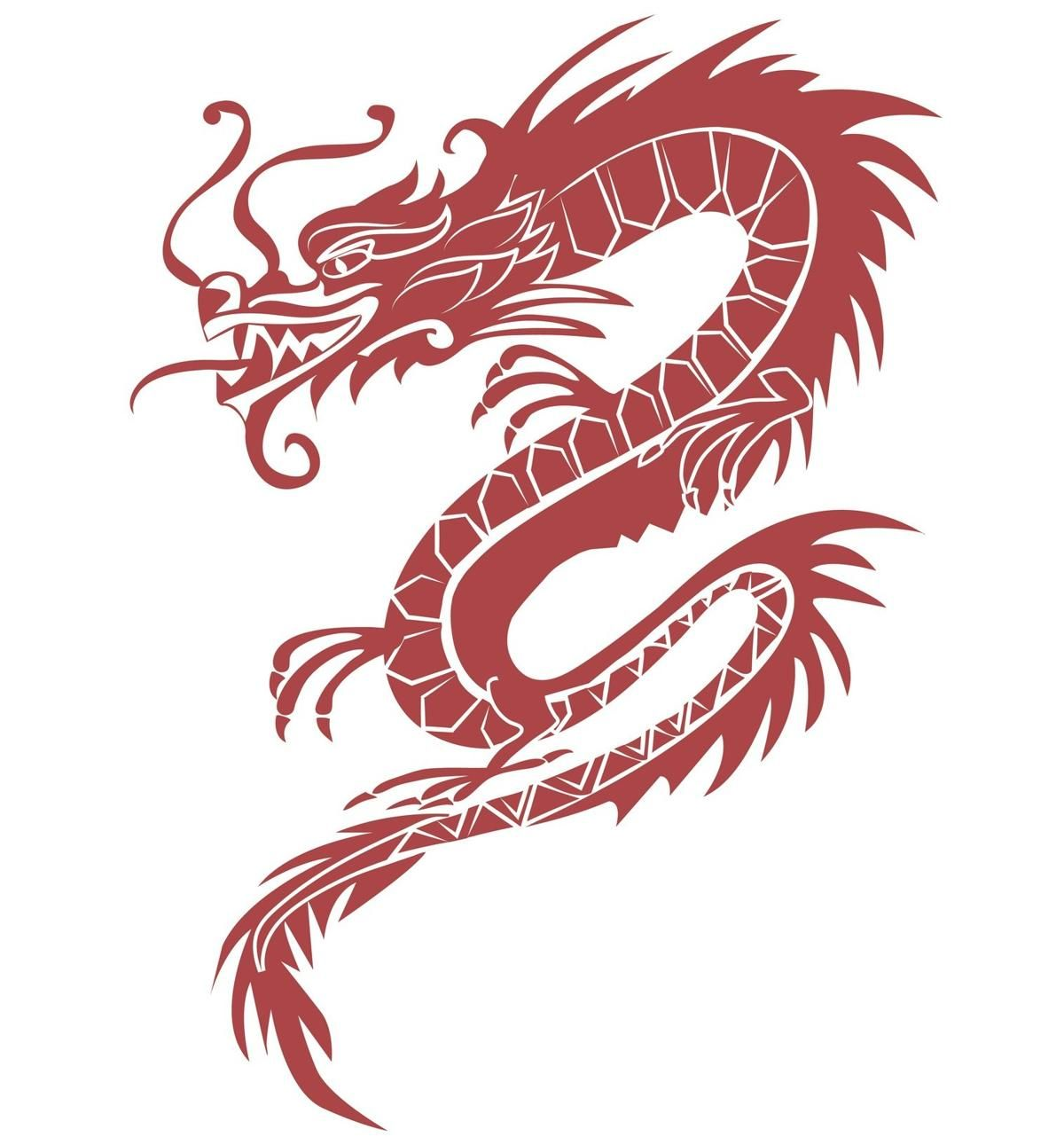 Red Dragon Symbol Dragon Tattoo Dragon Tattoo Meaning Chinese Dragon Tattoos