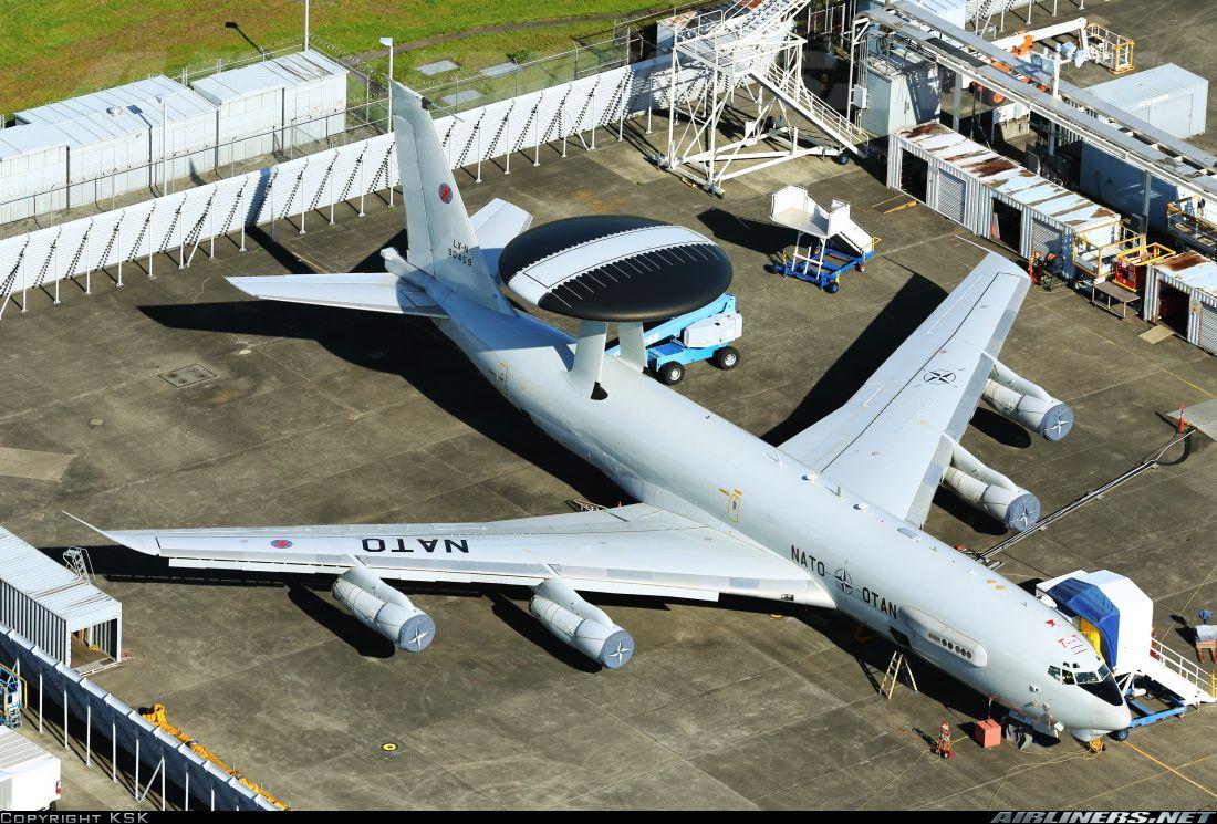 Boeing E3A Sentry (707300) Luxembourg NATO