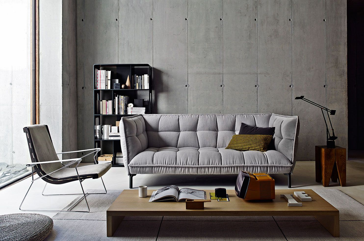 We Love Design: Husk Sofa Von Bu0026B Italia | Clic Im Stilwerk Hamburg