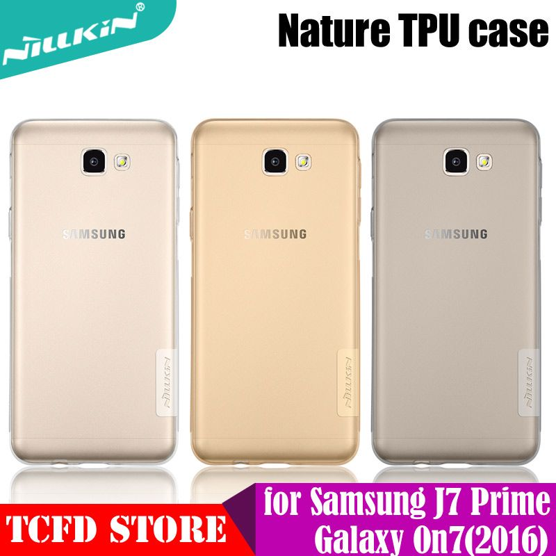 Case For Samsung Galaxy J7 Prime Case Nillkin TPU Case Ultra Thin Clear Soft Silicon Back cover For Samsung Galaxy On7 2016