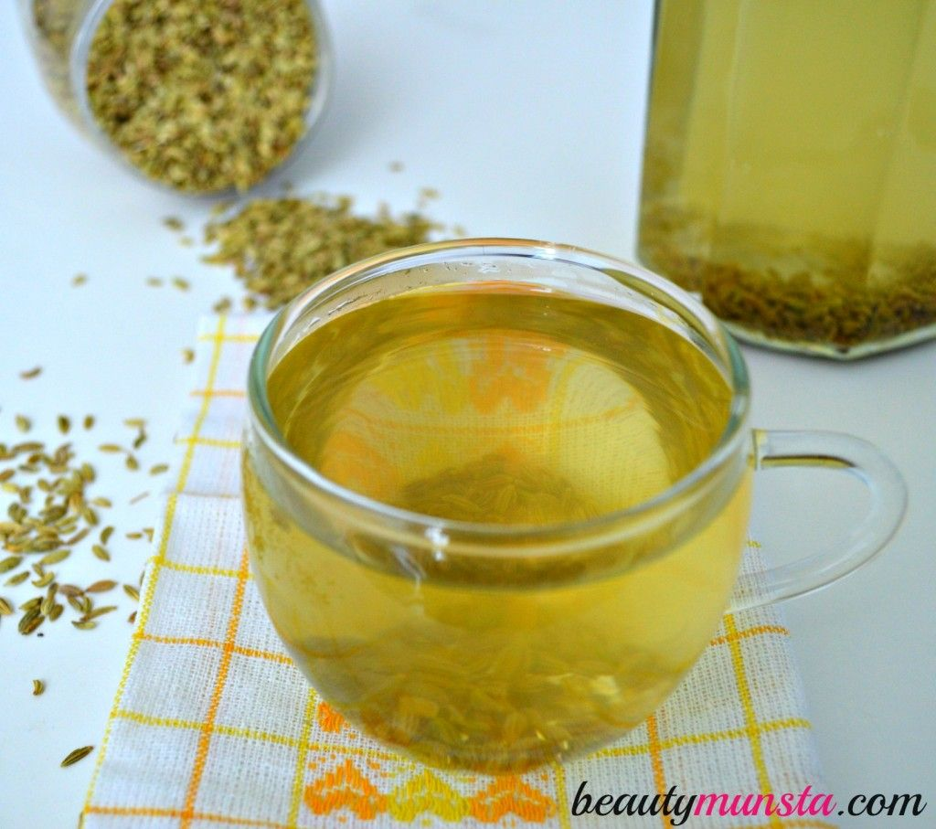 how to prepare fennel water for weight loss