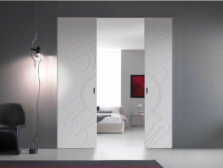 Innenlaufende Schiebetüren innenlaufende schiebetür kollektion walldoor by bertolotto porte