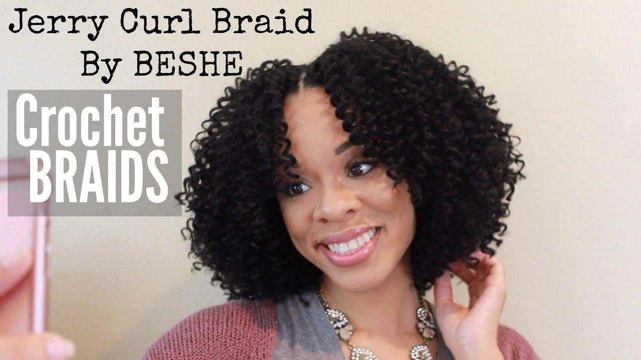 Jerry curl braid by beshe crochet braid tutorial in 2019