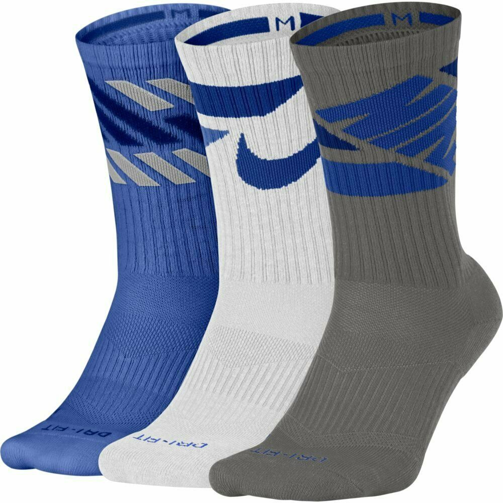 3f45896d6 Nike Mens 8-12 Womens 2 Pair Swoosh Crew Socks Olive Green Anthracite  SX5402-942 #Nike #Casual | Nike Socks | Crew socks, Nike men, Socks