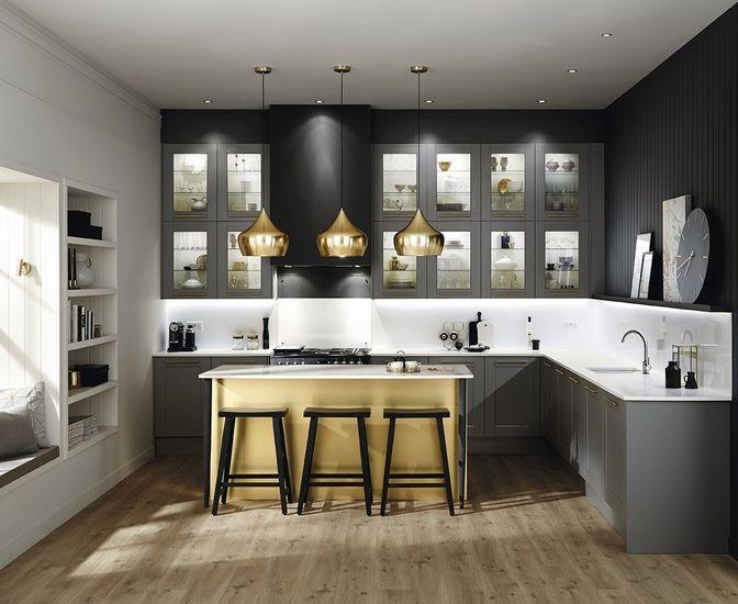 Kitchen Ideas Howdens fairford graphite | kitchen | pinterest | graphite, kitchens and