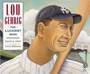 Gr 1 and up: Lou Gehrig's perseverance is legendary. During fourteen years as a first baseman for the New York Yankees, he played in a record 2,130 consecutive games, earning himself the nickname Iron Horse. Lou loved baseball and considered himself a very lucky man, even though on his thirty-sixth birthday he was diagnosed with a rare and fatal disease.