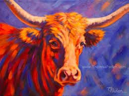 contemporary cow painting - Google Search