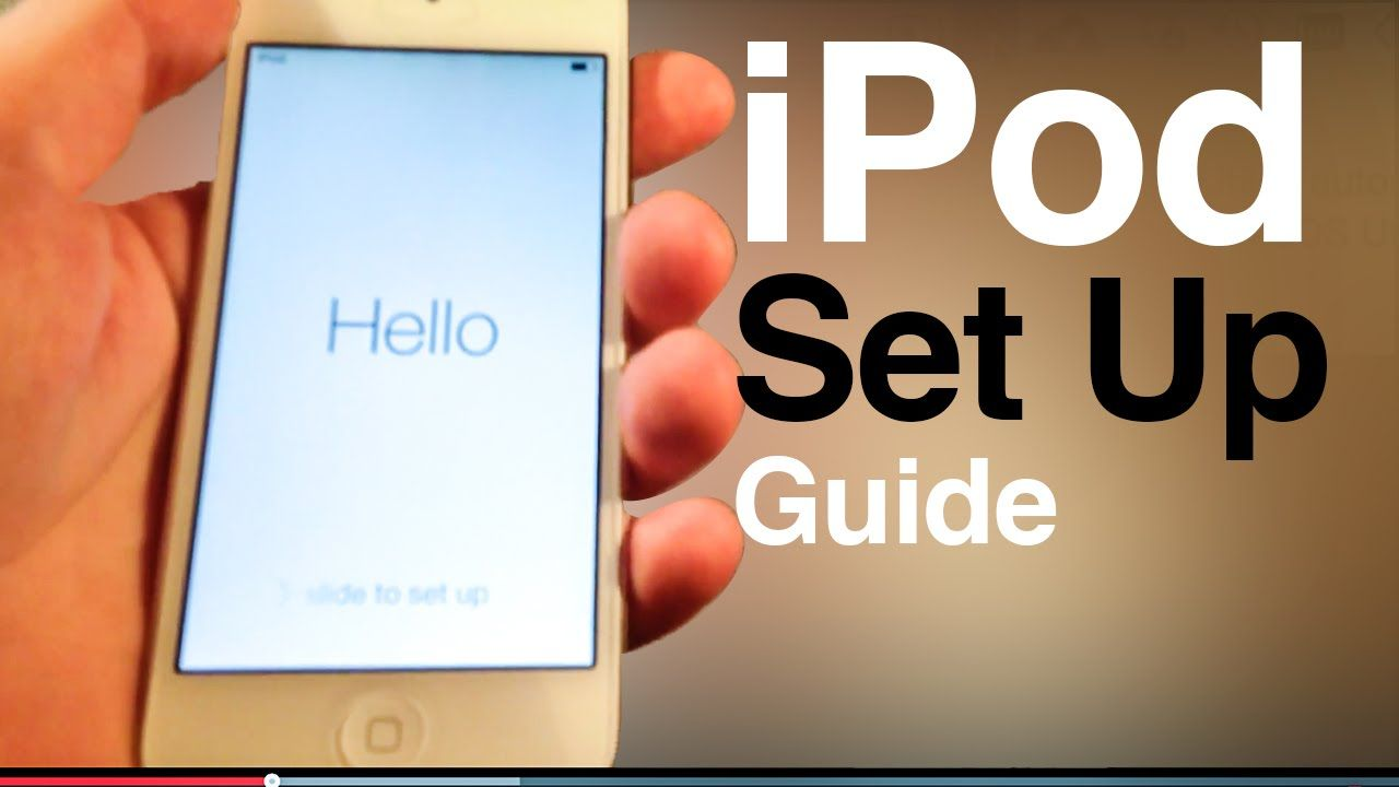 ipod touch user guide main set up first time turning on 5th gen rh pinterest com manual ipod touch 5 manual ipod touch 6g