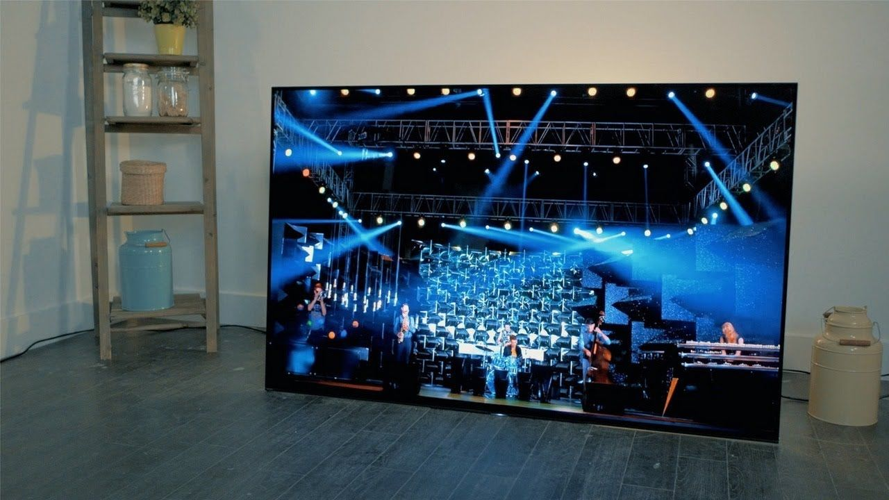 Sony A1 Smart Tv Series Sony S First Large Oled Tv Ultra Hd