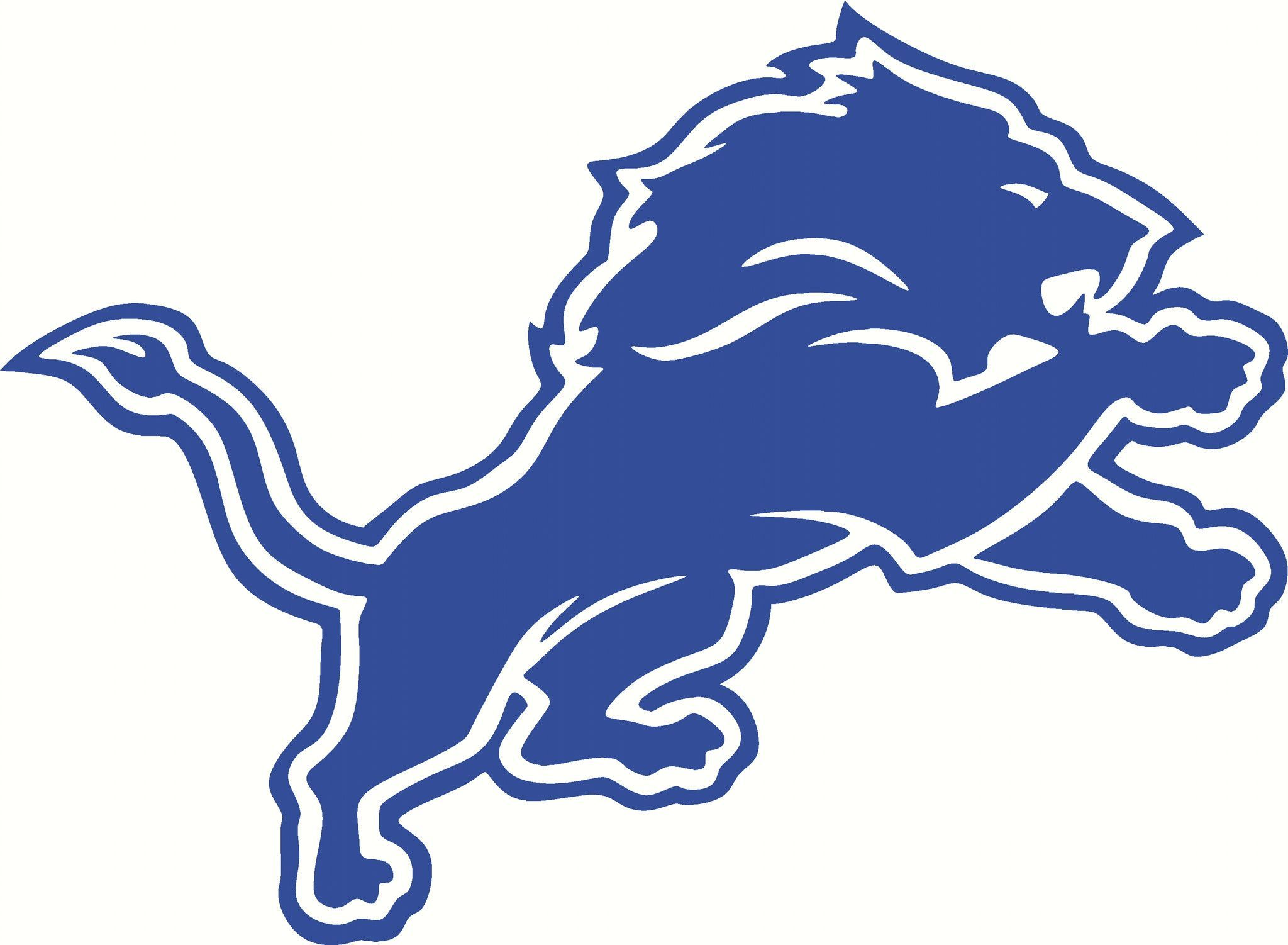 detroit lions logo vinyl cut out decal choose your color and size rh pinterest com Hand Grenade Symbol Army Hand Grenade Identification