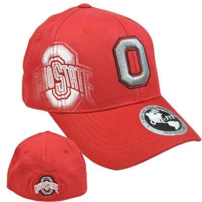 "NCAA Ohio State Buckeyes Hat Cap Flex Fit Stretch Top of the World Red One Size by Top of the World. $15.99. Official Licensed Product. Genuine Top of The World Merchandise. FlexFit - One Fit Regular 21 1/4"" to 23 1/2"". 97% Acrylic 3% Spandex. Brand New Item with Tags. High Definition 3D Team logo embroidered on front panel. Team name Printed with embroidery accent right panels. Team name embroidered on back panel. 97% Acrylic 3% Spandex. Flex Fit. One Fit Regu..."