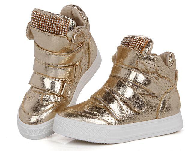 Boys Gold Sneakers | TopSneakers