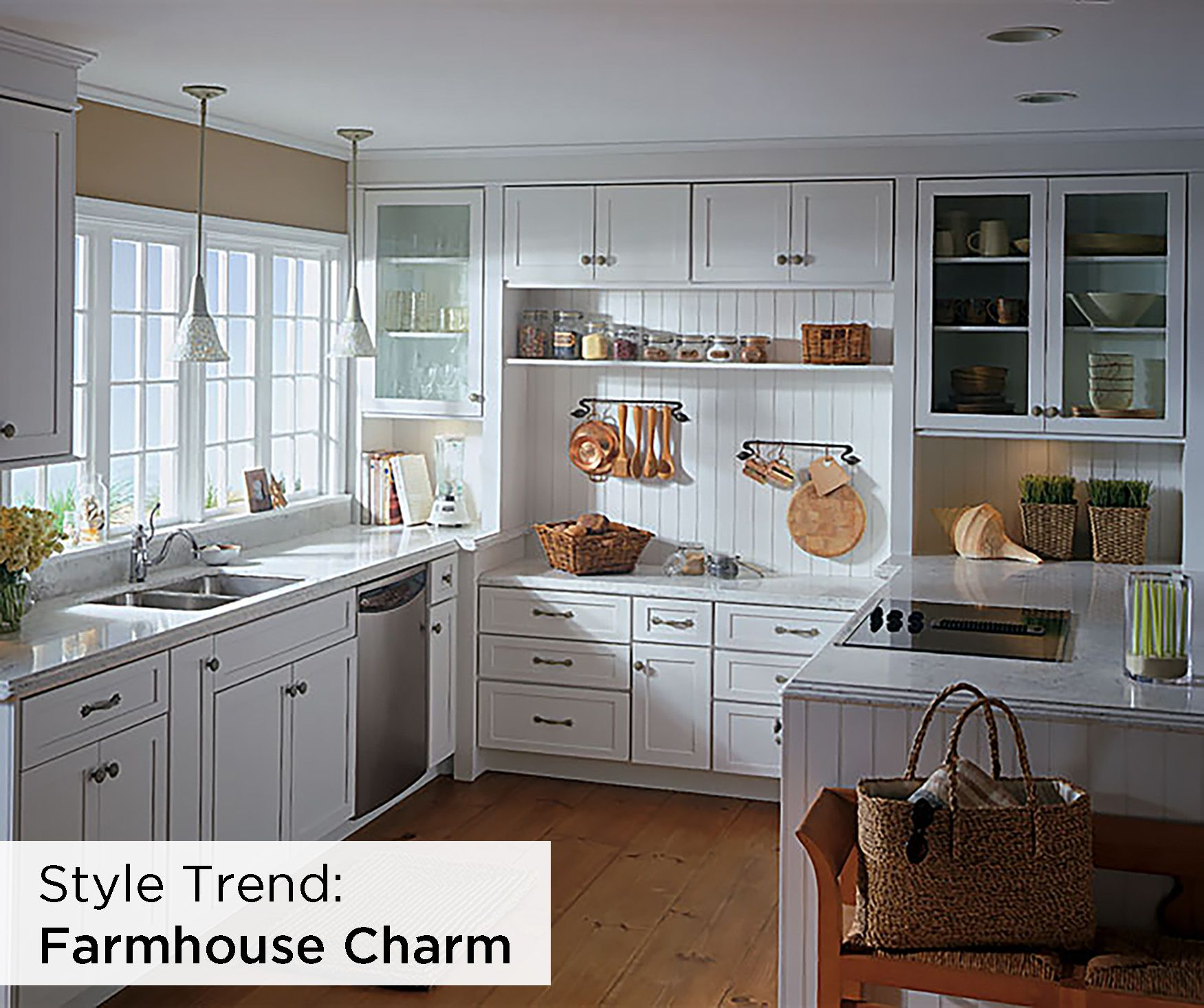 Farmhouse charm meets country living in this bright and