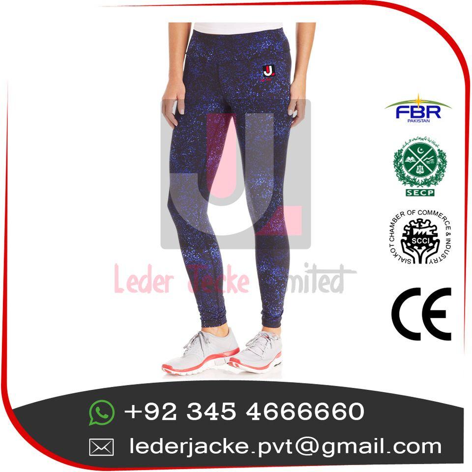 9c3dea8bb Leder Jacke)Womens seamless nylon spandex full length leggings ...