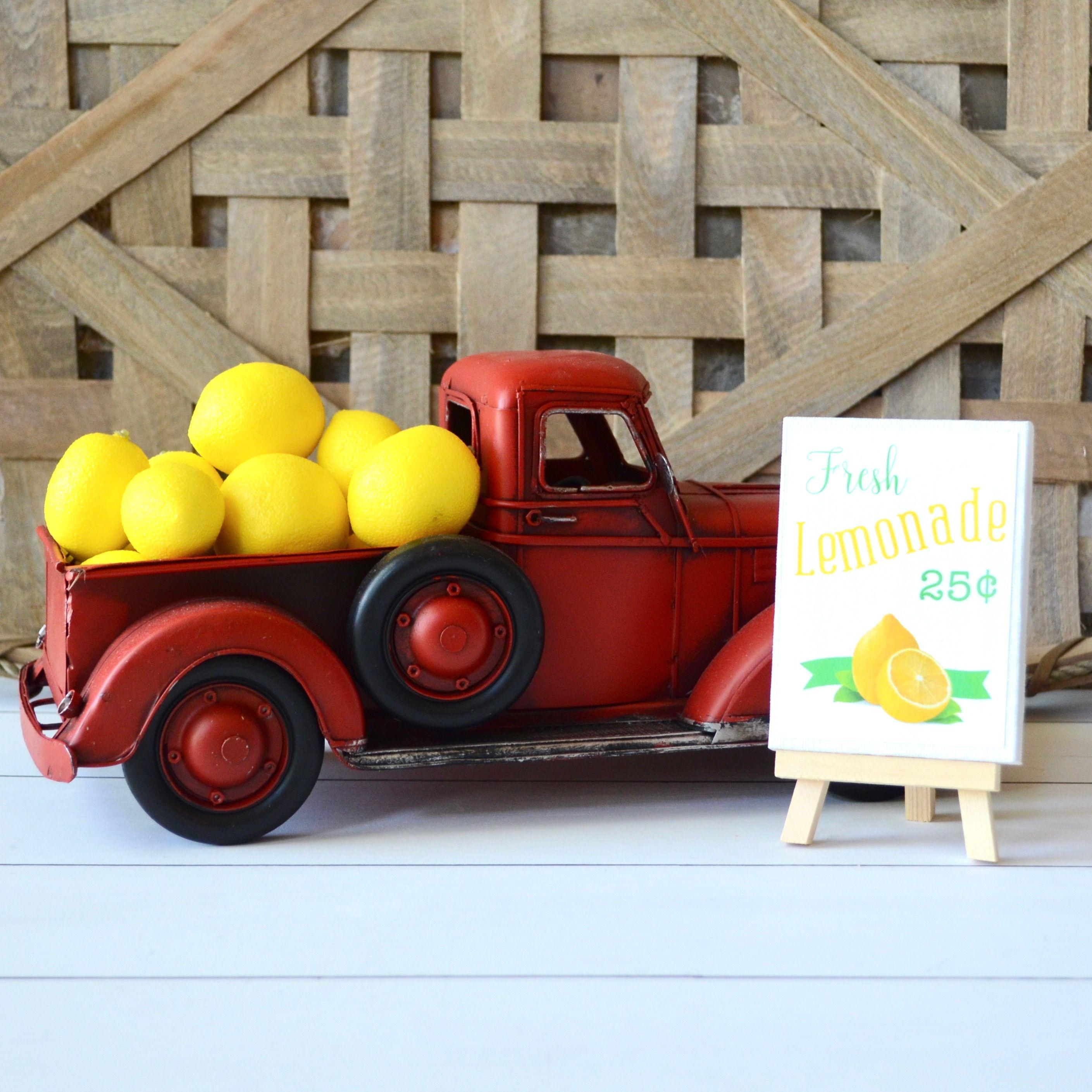 Sawdustangel With Images Lemonade Decor Lemon Decor Red