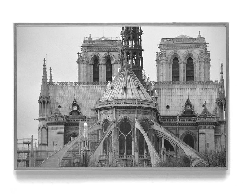 Notre Dame De Paris Large Paris Wall Art Black And White Etsy In 2021 Paris Wall Art Paris Wall Cathedral