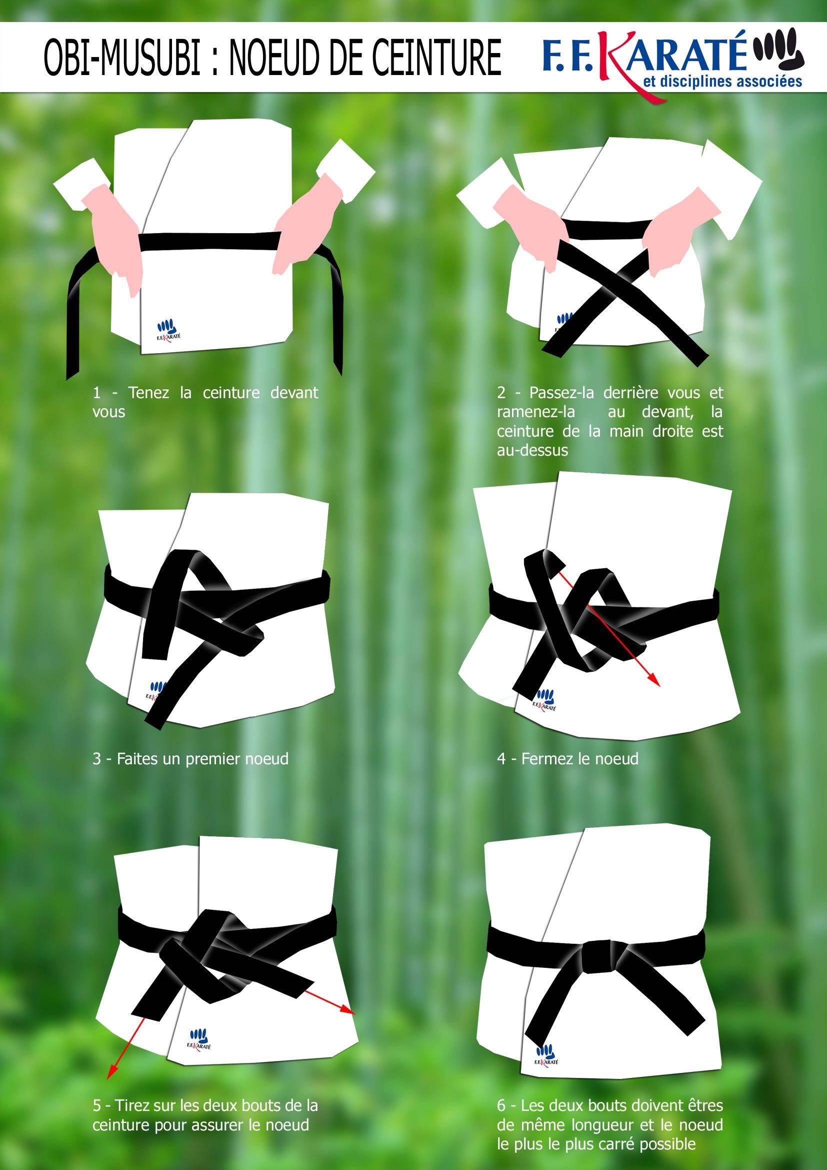 Comment attacher sa ceinture   SHOREI RYU KARATE DO   projet MMA ... c057418c974