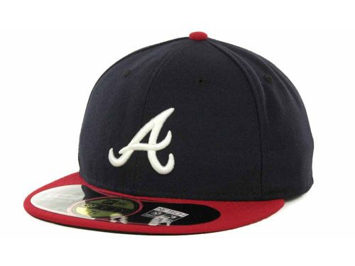 Atlanta Braves Mlb Authentic Collection 59fifty Cap Atlanta Braves Hat Atlanta Braves 59fifty Hats