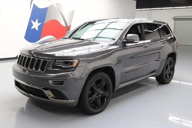 Awesome Great 2016 Jeep Grand Cherokee Overland Sport Utility 4