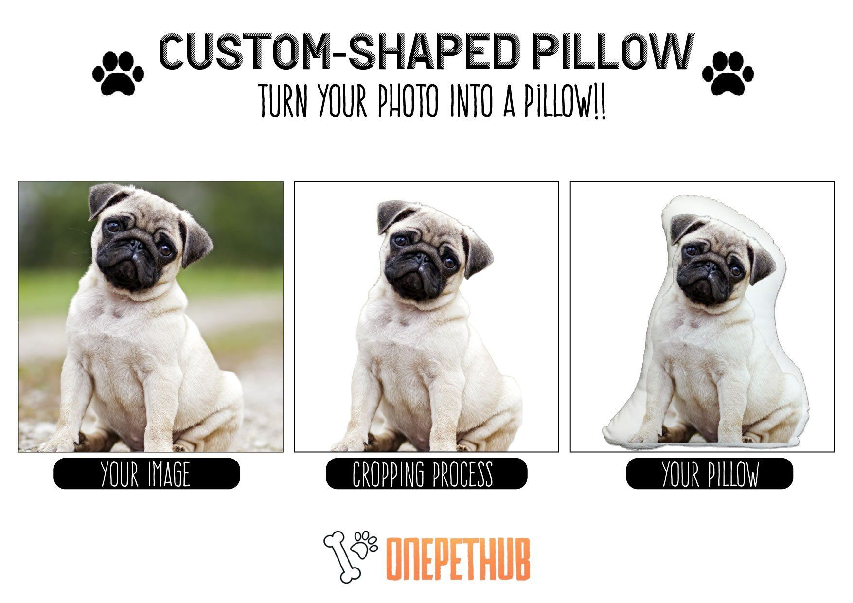 35a13314b2527 Personalized Cat Picture Pillow | Pawjoy Products | Photo pillows ...