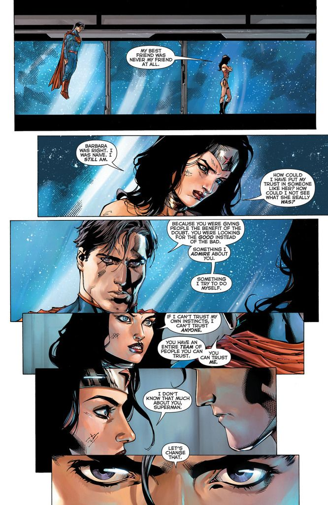 Wonder woman dating superman returns