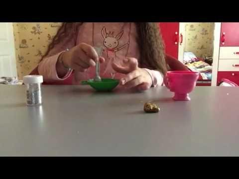 Boraksız Ve Tutkalsız Slime Nasıl Yapılır Malzemelerimiz Bir