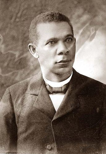 Booker T Washington by Black History Album, via Flickr 1st African American to dine at the White House.